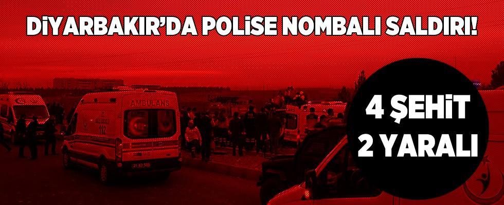 Diyarbakır'da polise bombalı saldırı: Şehitler ve yaralılar var!