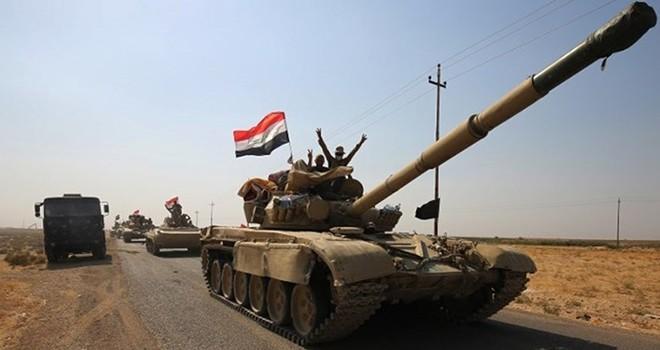 Irak ordusu iki bölgeyi daha aldı
