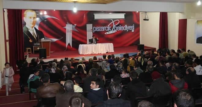 Pazarcık'ta 'Çanakkale şehitlerini Anma Programı' düzenlendi