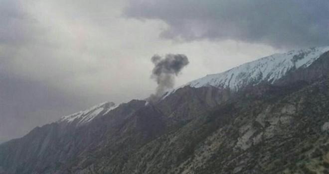 Türk uçağı İran'da düştü! Kurtulan yok