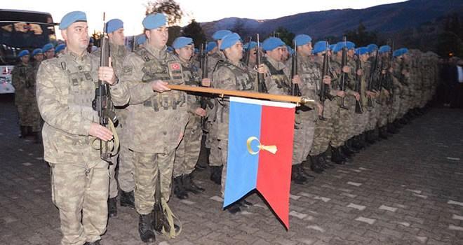 Komandolar El-Bab'a dualarla uğurlandı