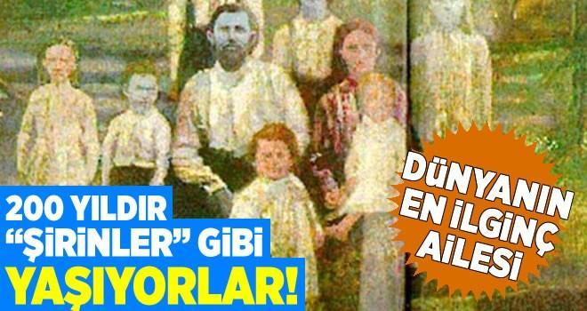 Dünyanın en ilginç ailesi! 200 yıldır mavi tenle yaşıyorlar