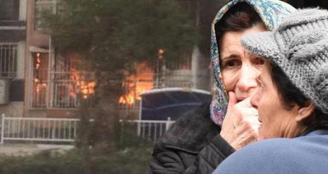 İzmir'de facia! 79 yaşındaki yaşlı kadın yanarak can verdi