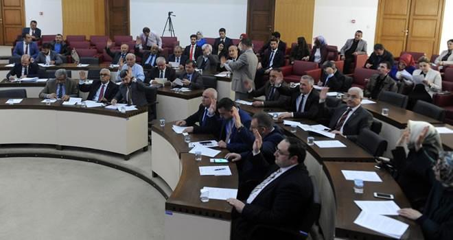 Büyükşehir Belediyesi Mart Ayı Meclisi toplandı