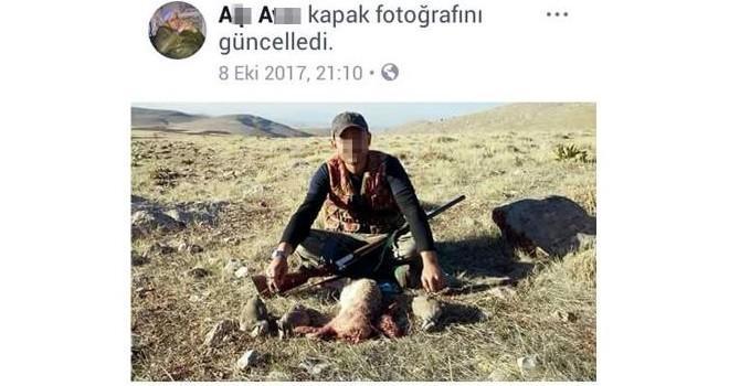 Kahramanmaraş'ta kaçak avın fotoğrafını sosyal medyada paylaşınca ceza yedi