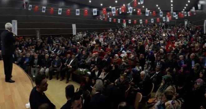Nihat Hatipoğlu Türkoğlularla buluştu