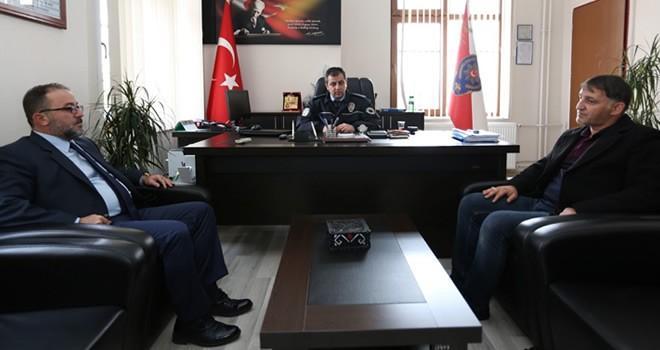 Başkan Güven'den, Emniyet Müdürlüğü'ne ziyaret