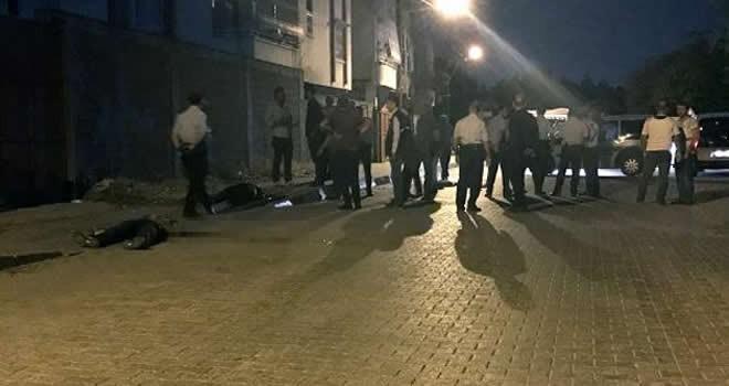Adana'da sokak ortasında silahlı saldırı!