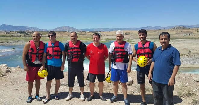 Büyükşehir'den rafting branşı da kuruldu
