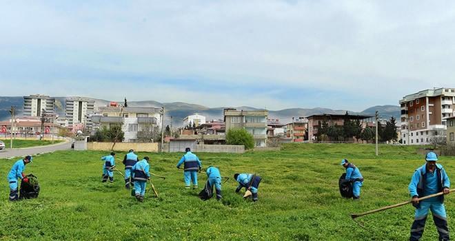 Dulkadiroğlu Belediyesin'den bahar temizliği!