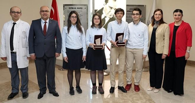 SANKO öğrencileri Türkiye'ye ödüllerle döndü!