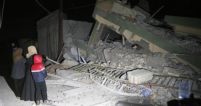 Irak'ta 7,3 büyüklüğünde deprem ! Yüzlerce ölü var