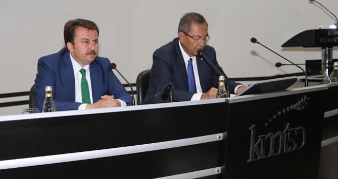 KMTSO Meclis Başkanı Hanefi Öksüz: 'Ankara'dan her şeyi yönetemezsin ki...'