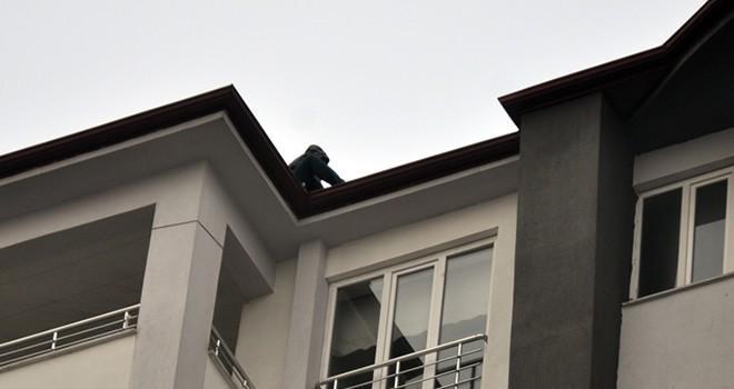 Elbistan İlçe Emniyet Müdürü intihar girişimini durdurdu