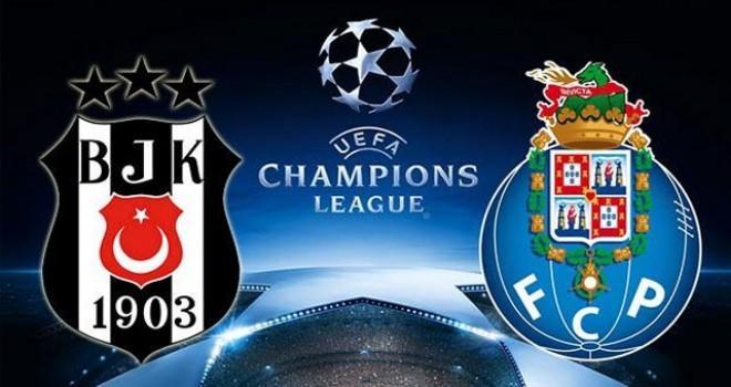 Beşiktaş-Porto maçı ne zaman, saat kaçta, hangi kanalda?