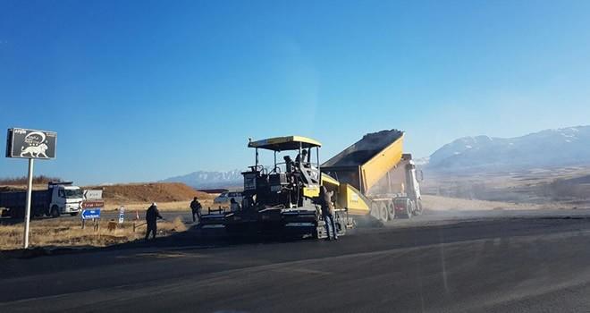 Toki-Hastane Yolu ve Alimpınar arası asfaltı tamamlandı