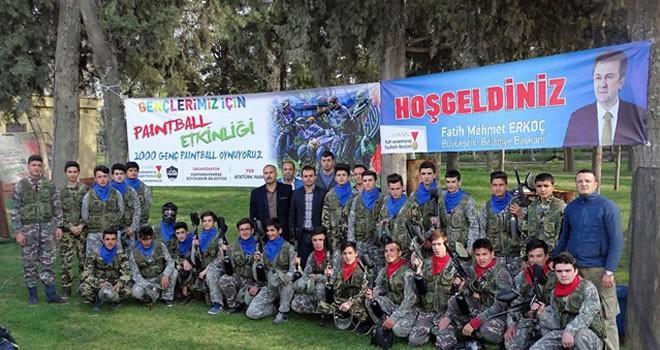 Büyükşehir'den Paintball etkinliği
