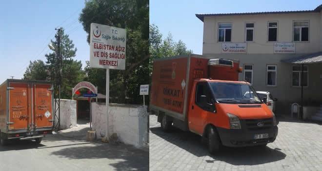 Büyükşehir Belediyesi ilk 7 ayda 534 ton tıbbi atık topladı