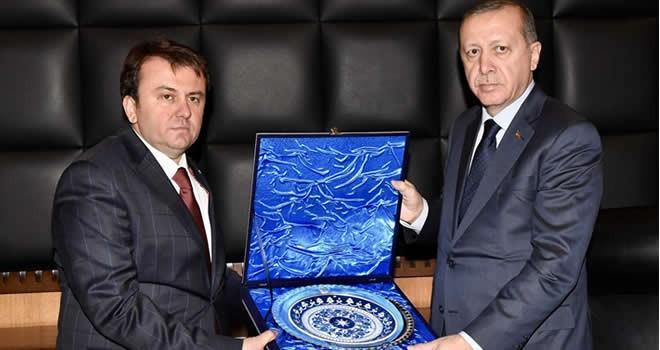 Cumhurbaşkanı Erdoğan Kahramanmaraş Büyükşehir Belediyesi'ni ziyaret etti