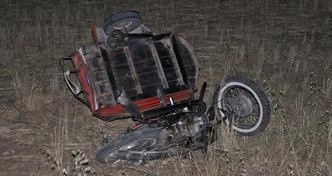 Kahramanmaraş-Gölbaşı karayolunda feci kaza: 1 ölü 1 yaralı