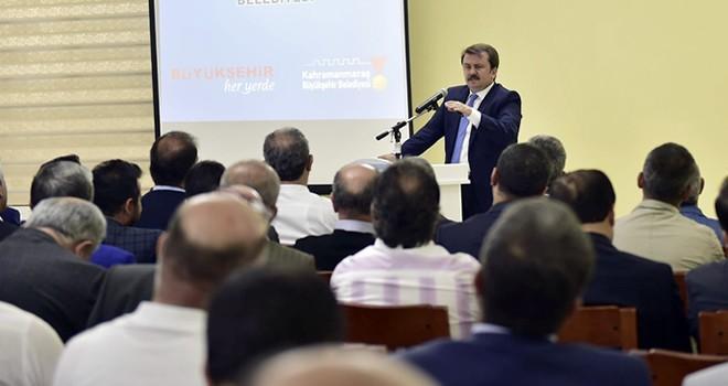 Başkan Erkoç, sivil toplum kuruluşu temsilcileri ile bir araya geldi
