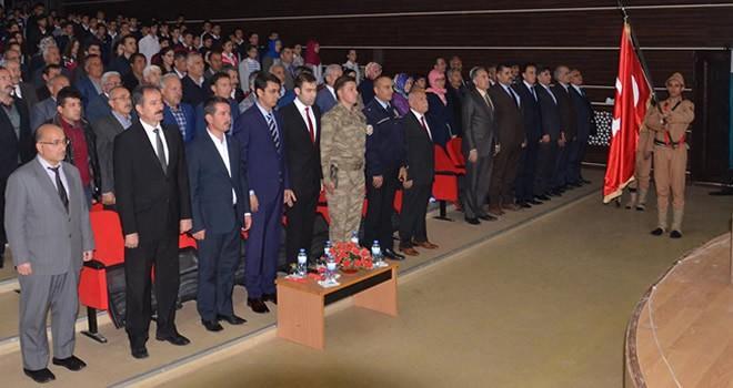 Türkoğlu'nda Çanakkale şehitlerini anma etkinliği