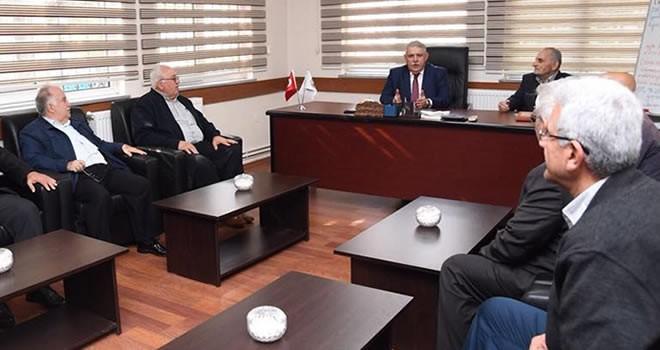 Başkan Mahçiçek'ten oda başkanlarına ziyaret