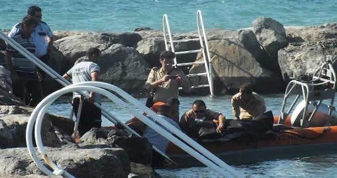 Hatay'da Askerin cansız bedeni denizden çıktı