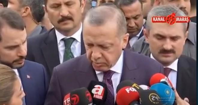 Cumhurbaşkanı Erdoğan'dan olaylı derbi ve Şenol Güneş açıklaması