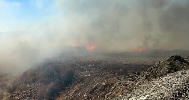 Kahramanmaraş'ta anız yangınları büyük tehlike saçıyor