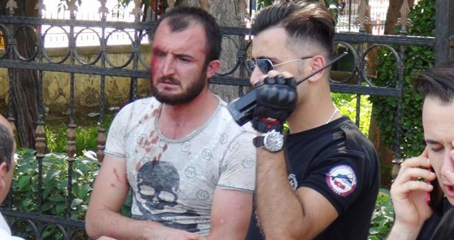 Şanlıurfa'da engelli gence vuran kişiye linç girişimi