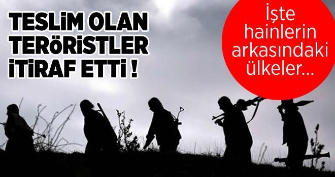 ABD ve İngiliz askerleri PKK'nın arasında