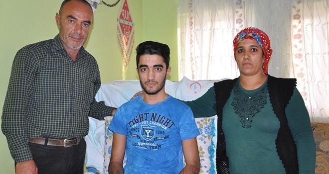 Kahramanmaraş'ta trafik kazası mağduru yardım bekliyor
