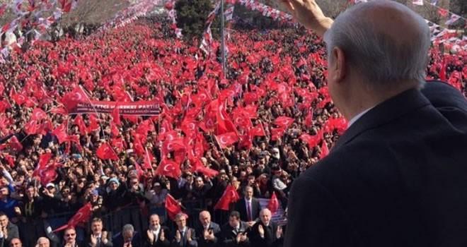 Devlet Bahçeli: 'Ülkücüyüm diyen 16 Nisan'da evet der'