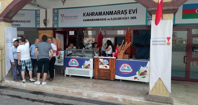 Kültür Festivali'ne Kahramanmaraş Evi