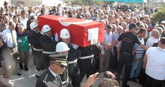 Şehit polis memuru Gürbüz Abdullah Çiftçi'ye son görev