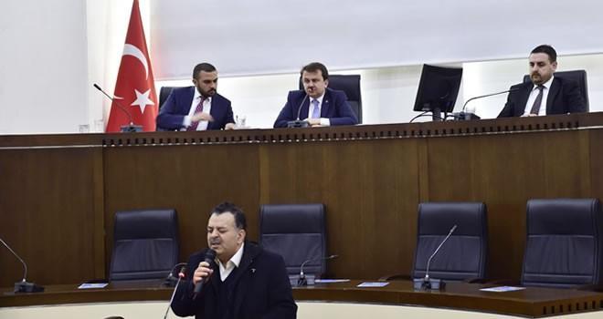 Kahramanmaraş Büyükşehir Belediyesi 2017 yılının ilk meclis toplantısı yapıldı