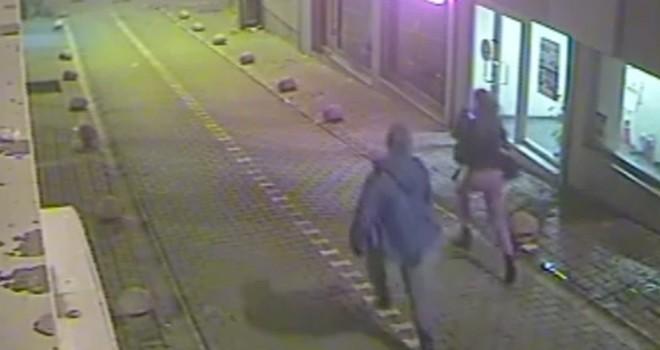 21 yaşındaki kıza sokak ortasında dehşeti yaşattı