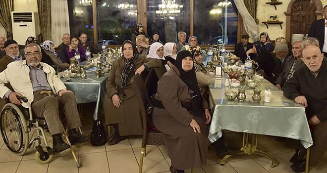 Başkan Erkoç 'yaşlıları' unutmadı