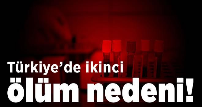 Türkiye'de ikinci ölüm nedeni!