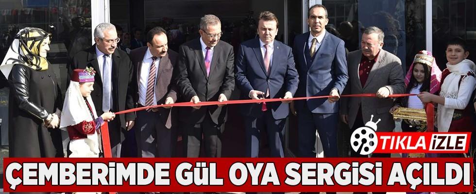 Çemberimde Gül Oya Sergisi Kahramanmaraş'ta açıldı