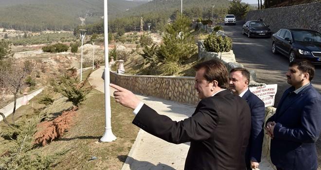 Başkan Erkoç: Kuzey Çevre Yolu'nu 2018'de bitirip trafiğe açacağız