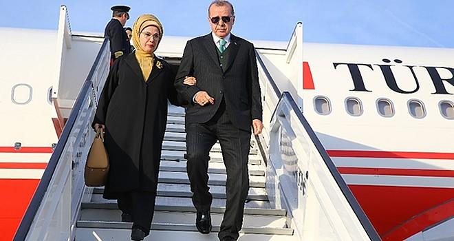 Cumhurbaşkanı Erdoğan'a Brüksel'de sevgi seli