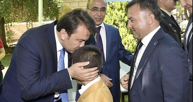 Kahramanmaraş'ta 'protokol-halk' bayramlaşması