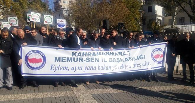 Kahramanmaraş'ta 'Kudüs protestosu'