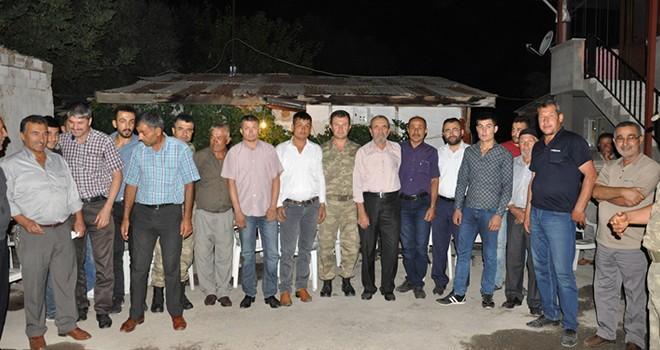 Kahramanamaraş'ta husumetli aileler barıştı