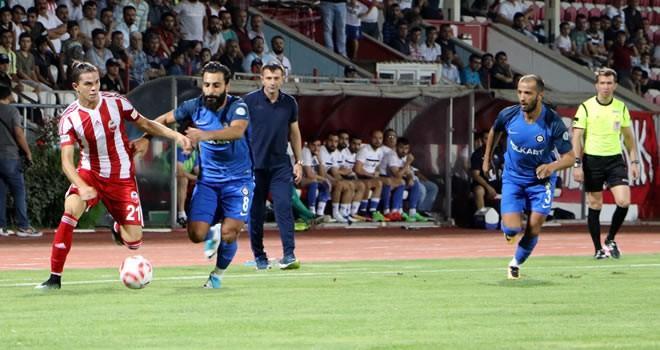 Bugsaşspor: 1 - Kahramanmaraşspor: 0 (Maç Sonucu)