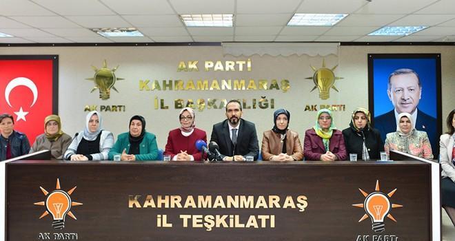 AK Parti Kahramanmaraş İl Kadın Kollarında bayrak değişimi
