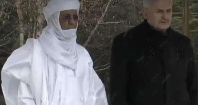 Nijer Başbakanı Brigi Rafini, Çankaya Köşkü'ne geldi