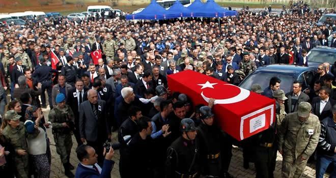 Şehit uzman çavuş Erkan İmalı'ya son görev